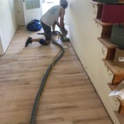 Sanding Red Oak flooring - edging