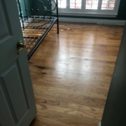 Old wood flooring to be removed