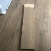 Checking match stained Oak stair tread