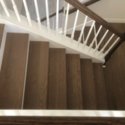 Installed FSC Certified White Oak flooring - landing