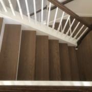 Installed FSC Certified White Oak flooring - landing