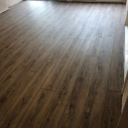 Oak look Luxury Vinyl Plank flooring - installed