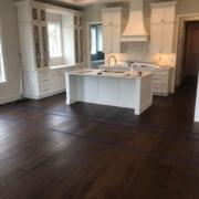 Installing Walnut flooring
