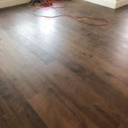 Installing Walnut flooring