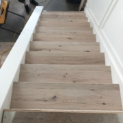 Installing French Oak stair treads