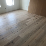French Oak flooring installed