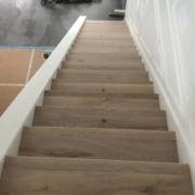 French Oak staircase installed