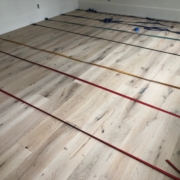 Installing French Oak flooring