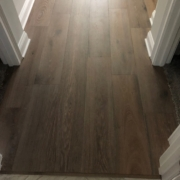 French Oak plank flooring installed
