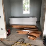 Installing Australian Cypress flooring