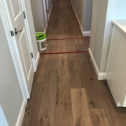 Installing French Oak plank flooring