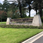 Twenty Mile enterance, in Nocatee, FL