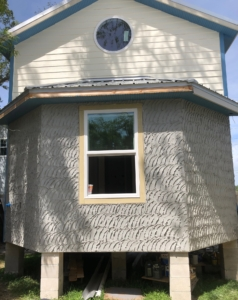 """She Shed"" exterior"