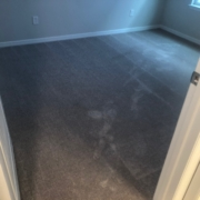 Tile and carpeting to be removed.