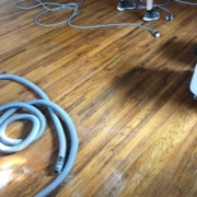 Red and White Oak flooring - pre-refinishing