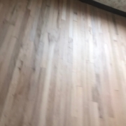 Red and White Oak flooring - refinished