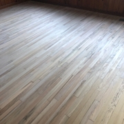 Sanded Red and White Oak flooring