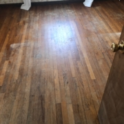 Sanding Red and White Oak flooring