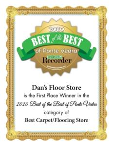 Best of the Best Flooring in Ponte Vedra FL.