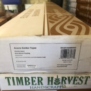 Solid Acacia wood flooring by Timber Harvest.