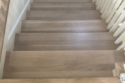 Finished Oak stairs.