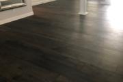 "9 1/2"" wide European Oak Flooring - installed."