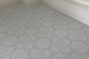 Alhambra Marengo tile installed.