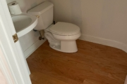 Existing wood flooring.