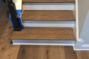 Refinished Red Oak staircase