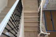 Refinished Red Oak stairway