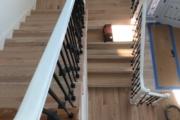 Refinishing Red Oak stairway