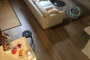 View of White Oak flooring