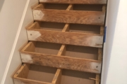 Leveling stairtreads.